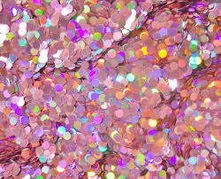 holographic glitter solvent resistant glitter holographic light pink dot glitter