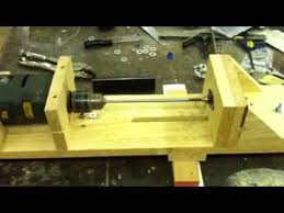 Wood Projects Youtube by Homemade Wood Lathe 5 Youtube Eszterga Pinterest Wood