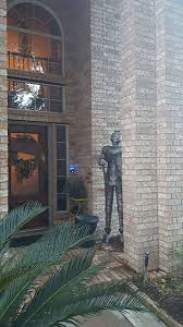 hilarious hoa stories pecan lakes homeowner finds herself in knight fight with hoa