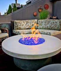 Modern Firepits Concrete Firepits With Naturecast Cement Elegance
