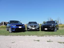 range rover engine turbo bmw x5 m vs porsche cayenne turbo s vs range rover sport svr