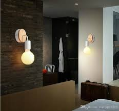 Wall Mount Light Fixtures 2018 Modern Wood Adjustable Wall L Bedroom Bedside Sconce