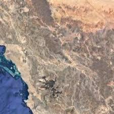 tabuk map satellite map of tabuk region saudi arabia