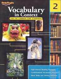 vocabulary in context for common core standards grade 2 051616