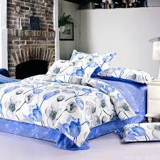 Blue Bed Sets For Girls by Online Get Cheap Girls Floral Bedding Sets Aliexpress Com