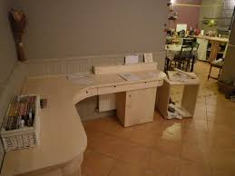 bureau arrondi bureau arrondi en érable atelier vive le bois menuisier à