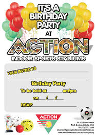 template classic sports birthday invitations templates with high