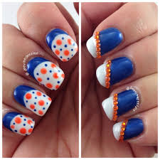 florida gator nail art university of florida nail art gator