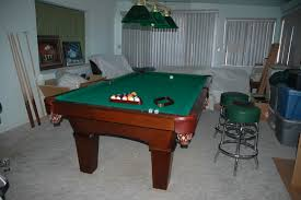 Used Pool Table by Used 8 U0027 Olhausen Pool Table For Sale
