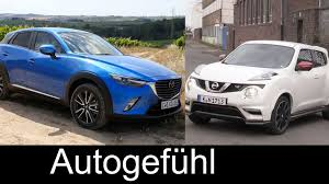 mazda small cars 2016 best small suv comparison test review mazda cx 3 vs nissan juke