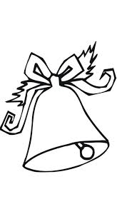 christmas bell coloring pages bell santa coloring kids