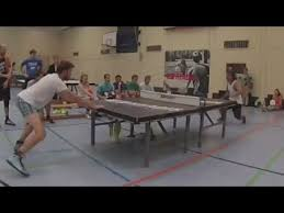 ping pong vs table tennis sport combines soccer and table tennis youtube