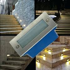 Stair Lights Outdoor Solar Stair Lights Outdoor Recessed Solar Powered Deck Stair