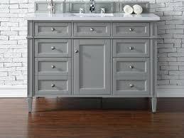 elements 48 inch douglas classic white bathroom vanity with regard