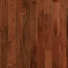 gunstock oak smooth high gloss solid hardwood 3 4in x 3 1 4in