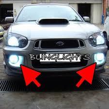 subaru impreza fog lights 2001 2005 subaru impreza gg rs wrx fog ls driving lights kit