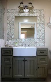 Best 25 Farmhouse Bathroom Sink Ideas On Pinterest Farmhouse Vibrant Bathroom Farm Sink Farmhouse Sinks In The Vanities