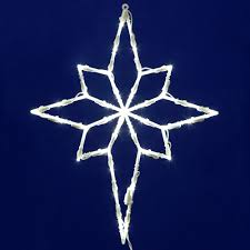 lighted outdoor decorations lighted star decorations