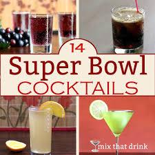14 super bowl cocktails