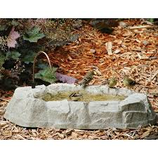 backyard nature products rocky mountain ground bird bath walmart com