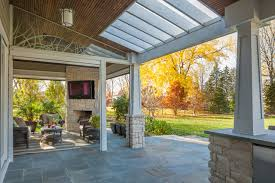 covered porch rear covered porch traditional porch chicago by kipnis
