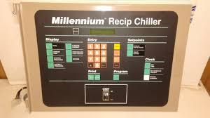 york 024 25504 000 rev d millenium recip chiller control panel