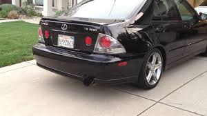 used parts for lexus is 300 2004 lexus is300 greddy ti c catback exhaust w rs titanium tip