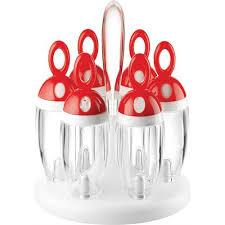 portaspezie girevole portaspezie girevole rosso my kitchen guzzini