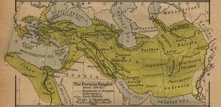 Maps Of Ancient Greece by Map Of The Persian Empire About 500 Bc