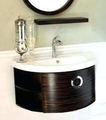 round bathroom vanity cabinets romantic rounded bathroom vanities in vanity cabinet motauto club