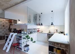 Small Storage Room Design - this architect made a small apartment liveable by designing a loft