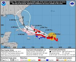 Florida Travel Forecast images Hurricane irma lands in the caribbean evacuations start on jpg