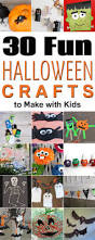 30 fun halloween crafts to make with kids