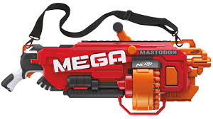nerf car gun nerf mega mastodon is a massive gun with rotating drum shop find