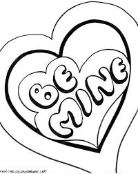 valentine coloring pages printable free sheets valentines