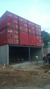 8 container home takes shape u2014 shipping containers at a fair price