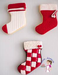 christmas cookie decorating with fondant tutorial veena azmanov