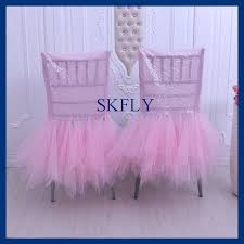 tutu chair covers compare prices on tulle chair cover online shopping buy low price