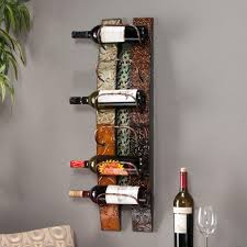 free standing metal wine rack bottle enthusiast charming for your