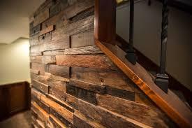 Barn Wood Basement Rambler Basement Remodel Cottage Grove Brynnalden Interiors