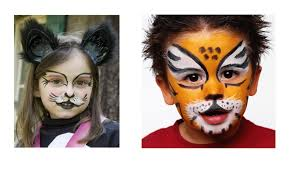 easy face makeup for halloween easy halloween makeup ideas for kids diy projects youtube