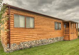 wood siding mobile home log cabin cabins and homes i wish owned 0