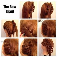 06 cute braided hairstyles for girls bow braid hairstyle french