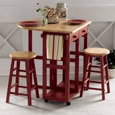 kitchen island with stools from seventh avenue dw73442