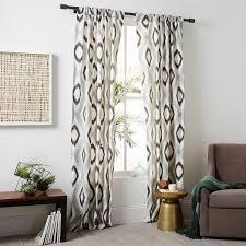 Blue Ikat Curtain Panels Ikat Curtain Panels Hotcanadianpharmacy Us