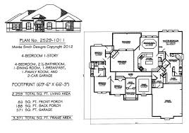 4 bedroom 1 story house plans 4 bedroom 1 story house plans beauteous small room landscape with
