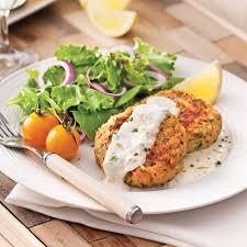 cuisiner saumon congelé croquettes de saumon sauce citronnée recettes cuisine et