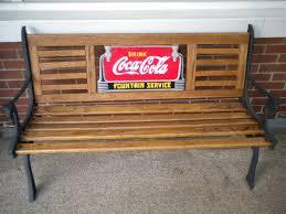 coca cola bench collectors weekly
