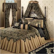 Black And Gold Crib Bedding Comforters Ideas Gold Comforter Sets New Better Homes And