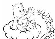 care bears cheer bear origami care bears activity ag kidzone